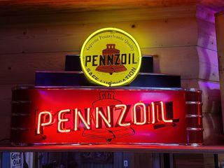 Pennzoil neon  2x3