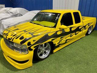 2000 Chevy Ext  Cab Custom