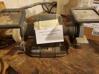 Tools Craftsmen 1 4 HP Split Bench Grinder