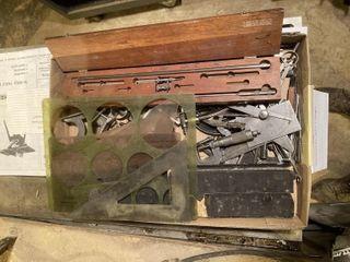 Tools Calipers   Compass FUll Box