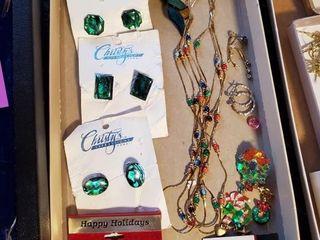 Indonesian   Maui stone earrings and