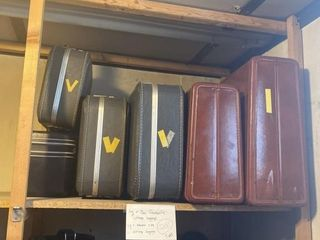large Vintage luggage