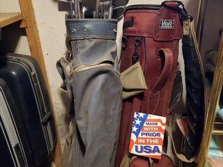 Golf Clubs   Bag vintage