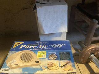 Air purifier and Metal bowl set