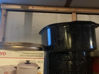 large Small Stock Pots