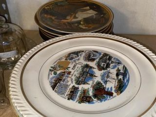 Vintage Assortment of State Plates