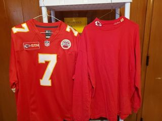 Chiefs shirts  7 Jersey and long sleeve mock