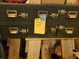 6 drawer tool file cabinet