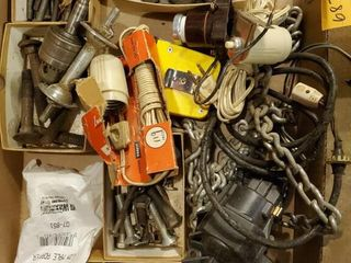 Miscellaneous bolts  door light and more Bolts