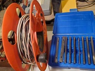 Electrical cord h machine shop dye rids w sizing