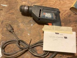Tools  Black N Decker Drill