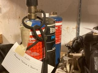 Propane Torch   Bottle