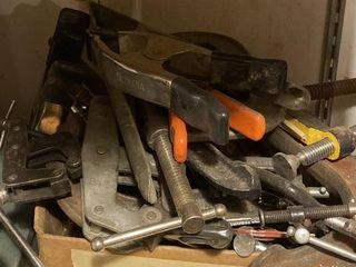 Tools  C Clamps Assortment