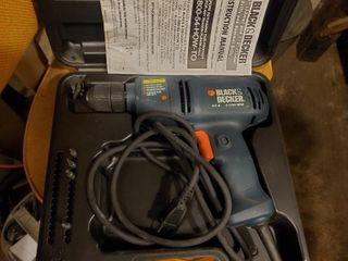 Tool  Black N Decker Drill