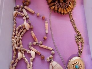Shell   stone necklaces and more Shell