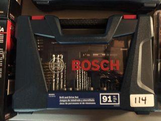 Bosch 91 pc Drill Bit Set