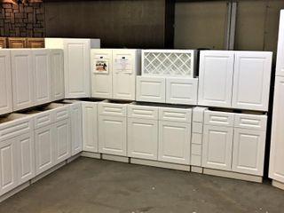 Aspen White Kitchen Cabinet Set