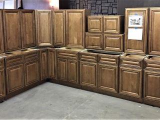 Sedona Chestnut Kitchen Cabinet Set