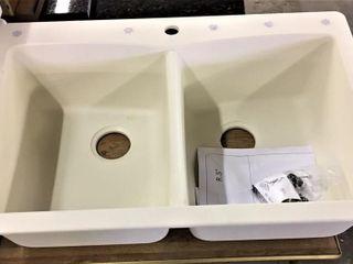 Sinkology Composite Drop in or Undermount Sink