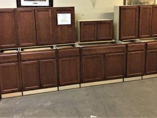 Manistee Clove Kitchen Cabinet Set