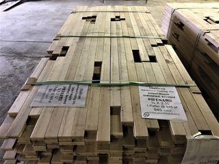 Mullican Select Maple Unfinished Hardwood Flooring