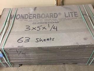 Wonderboard Tile Underlayment