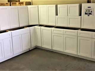 Arcadia White itchen Cabinet Set