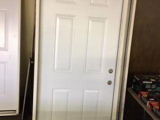 Reeb 36 inch lH Steel Pre Hung Entry Door