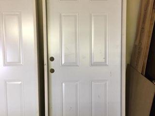 Reeb 36 inch RH Steel Pre Hung Entry Door