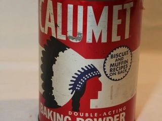Calumet Baking Power Tin