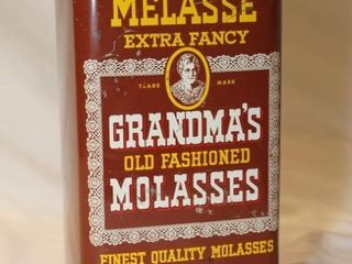 Melasse Fancy Molasses Tin
