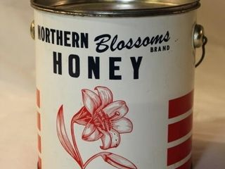 Northern blossom honey tin
