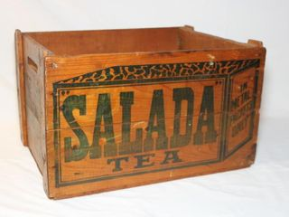 Salada Tea box