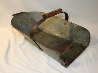 Vintage grain scoop