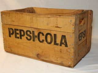 Pepsi Cola pop case