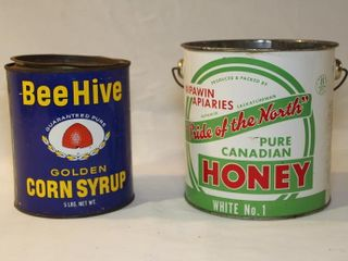 Nipawin apiaries tin and bee hive tin