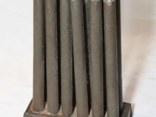 Galvanized candle mold