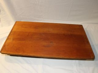 Vintage wooden bread board