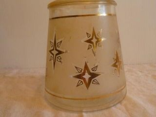 Retro Cookie Jar 8 inches tall