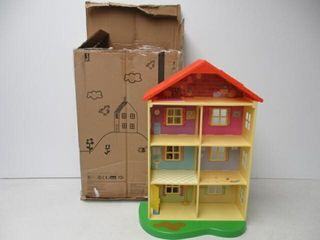As Is  Peppa Pig Fancy Family Home Playset
