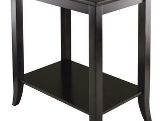 Winsome Wood Genoa Rectangular End Table with