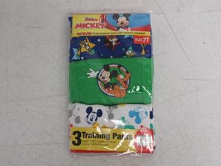 Disney Boy s 2T Toddler Mickey Mouse 3pk Training