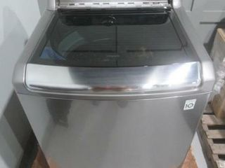 As Is  lG 6 0 cu ft  Capacity Top load Washer