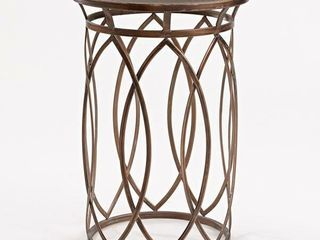 FirsTime   Co  Marquise Side Accent Table  22 5  H