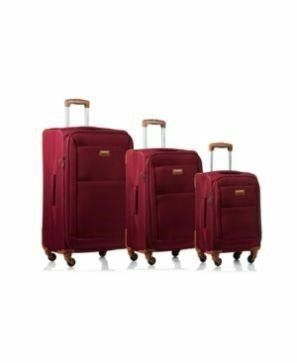 Champs Classic 3 Piece luggage Set Red