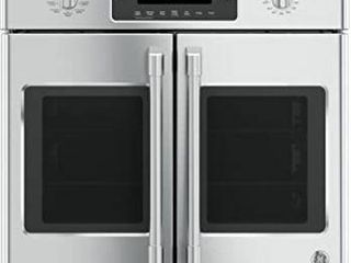 GE Cafe 30  5 0 Cu  Ft  Self Clean True Convection