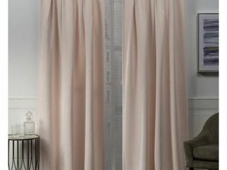 Exclusive Home Set Of 2 Inverted Pleat Hidden Tab