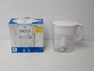 As Is  Brita Slim Water Filter Pitcher with 1