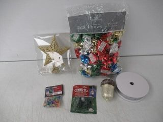 lot Of Miscellaneous Christmas Decorations