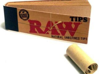 4  500 RAW Rolling Papers Filter Tips  10